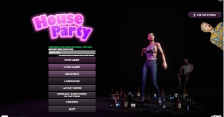 House Party 0.18.1 Game Walkthrough PC Download for Mac