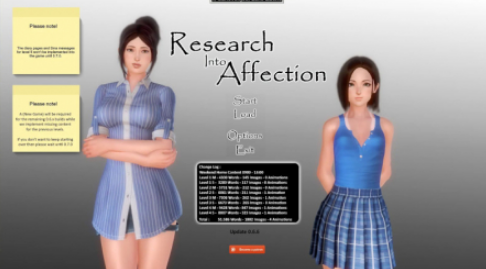 Research Into Affection PC Game Walkthrough Download for Mac