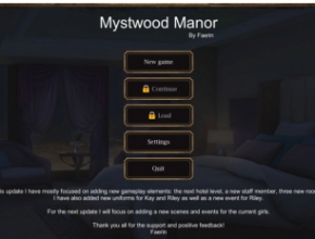 Mystwood Manor 0.4.1.7 Game Free Download for Mac and Mac