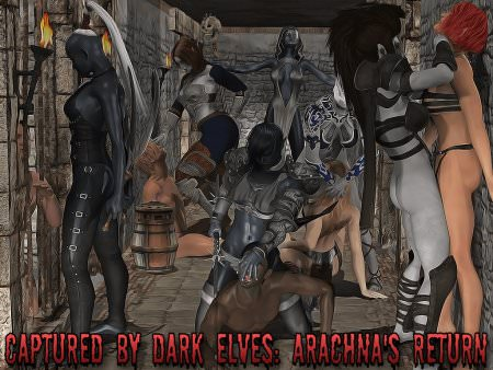 Captured by Dark Elves: Arachna's Return Game Walkthrough Free Download for PC & Android