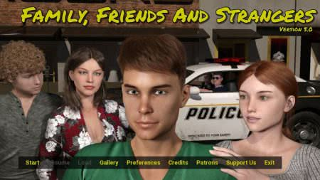 Family, Friends and Strangers Game Walkthrough Free Download for PC & Android