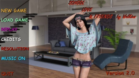 School, Love & Friends 2.0 Game Walkthrough Free Download for PC & Android